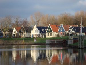 Beautiful traditional old dutch houses in Amsterdam Noord Cool Contrasts ATO Tours Where to go