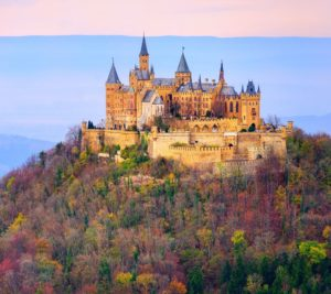 Hohenzollern Castle in autumn Top 10 Castles in Europe ATO Tours Where to go