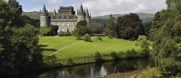 Inveraray Castle in Scotland Top 10 Castles in Europe ATO Tours Where to go