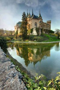 Ojnice Castle in a beautiful summers day Top 10 Castles in Europe ATO Tours Where to go